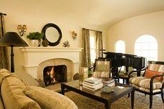 Sconces Above Mantel Design Ideas, Pictures, Remodel, and Decor