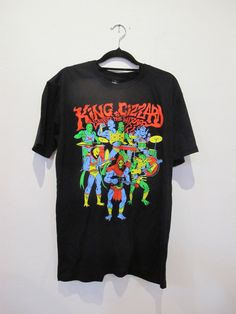 King Gizzard & The Lizard Wizard Masters of the Universe Tee