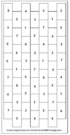 12 strand kumihimo instructions