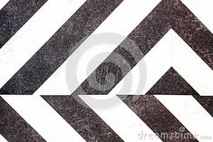Black and white striped arrow background illustration.