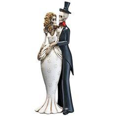 Design Toscano Skeleton Bride and Groom Figurine