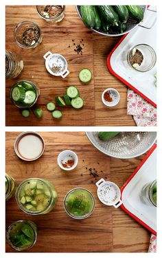 Garlic Dill Cucumber Pickles by joy the baker