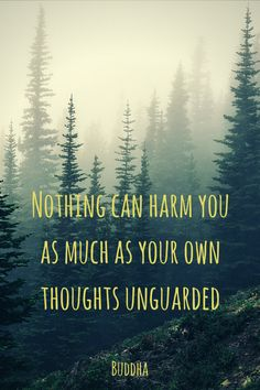 """Nothing can harm you as much as your own thoughts unguarded.""  ― Gautama Buddha.   Click on this image to see the biggest collection of famous quotes on the net!"