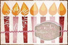 The more candles the bigger the wish, happy birthday, birthday card, 4x6 size to print at store, print from home