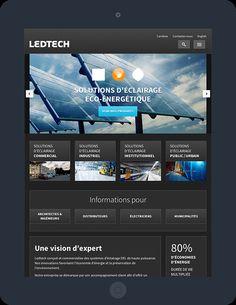 Ledtech Portfolio Website Design, Public, Commercial Lighting, Web Development, Digital Marketing, Audio Engineer, Urban