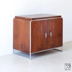 Cabinet by Hermann John Hagemann for Thonet Mundus, Viennese Modernism ca. 1930s - Image 1