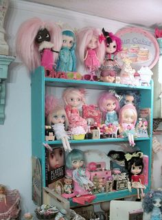 One  day I shall have a dolly shelf