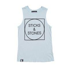 Mini & Maximus Sticks and Stones Tank Top