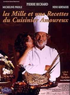 "Nana Dzhordzhadze's ""A Chef in Love""  was filmed in Paris and the former Soviet Georgia, paints the chef, Pascal Ichac, as a great eccentric bon vivant: a man capable of identifying any vintage by its bouquet, of finding a bomb at the opera by his nose alone, of criticizing another chef's recipes by the aromas that float in through an attic window. In the past he has also been something of an opera singer and, it is rumored, a gigolo on a cruise ship on the Nile."