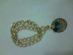 Bello collar de cadena