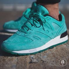 """Saucony Grid SD"" Light Green 