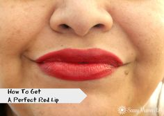 How To Get Perfect Red Lips #CVSBeautyClub