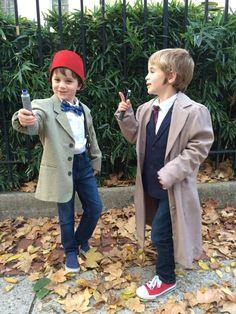 Doctor Who DIY Ten and DIY Eleven
