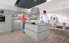 Beton und Stein kommen jetzt auch in der Küche zum Einsatz. Wir stellen die neuen Betonküchen vor und zeigen DIY Ideen für Betondeko.