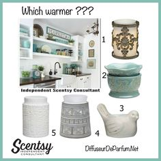 *Which warmer would you choose for this room? #WhichWarmer? #ScentsyWarmer…