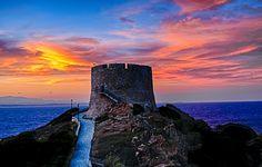 #Santa Teresa Gallura #torrearagonese #sunset #Sardinia