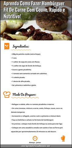 Como Fazer Hambúrguer Fit... ➡ https://segredodefinicaomuscular.com/aprenda-como-fazer-hamburguer-fit-de-carne-com-couve-rapido-e-nutritivo/ Gostou? Compartilhe com seus amigos... #receitasfit #EstiloDeVidaFitness #ComoDefinirCorpo #SegredoDefiniçãoMuscular