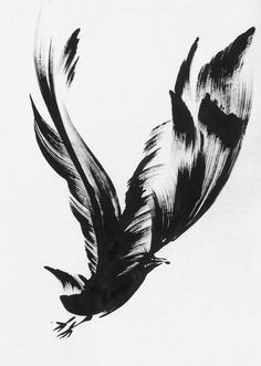 Baby Tattoos, Body Art Tattoos, Tatoos, Conrad Jon Godly, Brush Stroke Tattoo, Raven Pictures, Remembrance Tattoos, Crow Art, Raven Tattoo