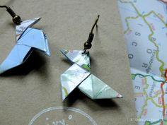 Les BO origami cocotte