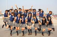 AKB48 all-girl pop band with believe it or not...56 total members.