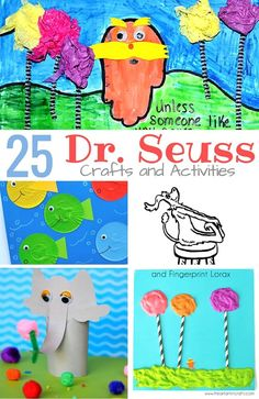 25 Dr Seuss activities and crafts for little ones