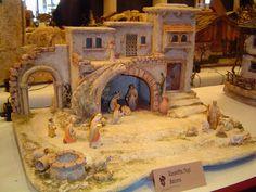 Haga clic para cerrar la ventana Nativity Creche, Christmas Nativity Scene, Christmas Villages, The Good Shepherd, Ceramic Houses, Diorama, Glitter Houses, Model Building, Model Homes