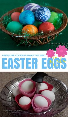 Pressure Cooker Hard Boiled Eggs are easier to peel and turn out perfectly every time.