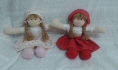 Bonecas com chapéu