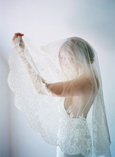 you'll never regret wearing a veil on your wedding day :)