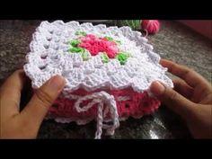 Crochet Diy, Filet Crochet, Vintage Crochet, Crochet Hats, Tissue Box Covers, Tissue Boxes, Crochet Kitchen, Knitting Stitches, Crochet Patterns