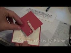 Graduation Cap Fancy Fold Card Tutorial - Stamping Country