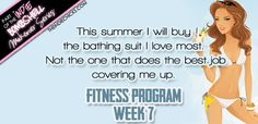Bombshell Fitness Program. Welcome to Week 7 of the Bombshell Fitness Program! The final stage is where all the magic happens. Phase 3 is where we tighten and tone and get you into that bikini and on the beach! Stay strong through this week. The workouts, reps, and sets are getting tougher, but I know you can handle it! #TheIndieChicks #workout #exercise #makeover #health #healthier #bombshell