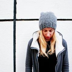 There's nothing like a great knit hat to keep you going through winter. Perfect for beginners!