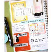 Smash book journaling.  Looks fun!