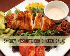 This Smokey Mesquite BBQ Chicken Salad from Stefanie @Stefanie Wee Fauquet is so tasty it might set off the alarm… -- #recipe #freshtake #summer