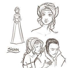 Sigyn is Loki's wife in Norse mythology, and in the Marvel comics. Granted, the way they get married is pretty screwed up. Like, Phantom of the Opera, or Beauty and the Beast. Loki Marvel, Loki Thor, Tom Hiddleston Loki, Marvel Art, Marvel Comics, Loki Und Sigyn, Loki Laufeyson, Avengers Memes, Marvel Memes