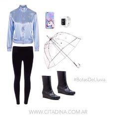 #CitadinaLook para un día lluvioso! Web: www.citadina.com.ar shop online: www.citadina.com.ar/shop