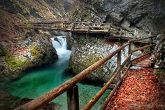 Blejski Vintgar Gorge, another place I'd love to see, showed this to momma and she was in awe!