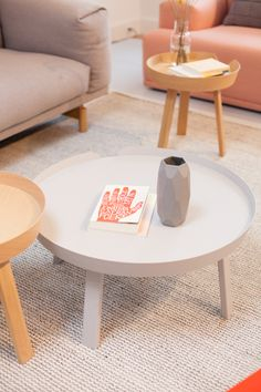 The Around table available in 2 different sizes and 6 different colors/finishes. Muuto in Copenhagen