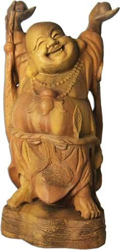 Jolly Hotei Outdoor Garden Statue available in Eight Different Finishes available at AllSculptures.com