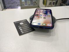 iPhone X con carica induzione