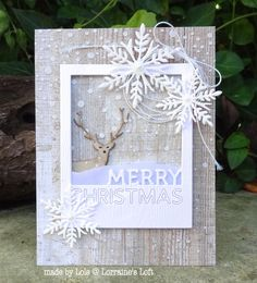 Gorgeous creation by Lols for the Simon Says Stamp Wednesday challenge (Winter Inspiration)