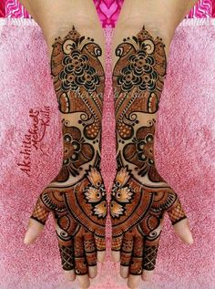 Full Mehndi Designs, Stylish Mehndi Designs, Dulhan Mehndi Designs, Mehndi Design Pictures, Wedding Mehndi Designs, Beautiful Mehndi Design, Mehndi Designs For Hands, Mehndi Images, Mehendi