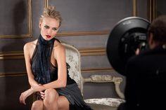 Photo shoot with #NatashaPoly for L'Oréal Paris.