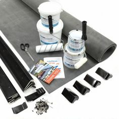 Garden Room Rubber Roof Kits from Trusted suppliers of rubber roofing materials to the trade and DIY. Rubber Roofing Material, Roofing Materials, Flat Roof Systems, Roofing Systems, Garden Post Lights, Garden Office Shed, Epdm Roofing, Curtains Ready Made