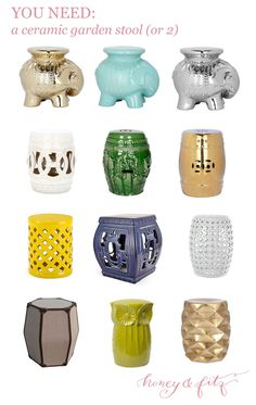 Pleasant 126 Best Garden Stools Images Ceramic Garden Stools Machost Co Dining Chair Design Ideas Machostcouk