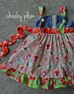 Cheeky Plum Country Charm Dress