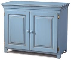 Pantries and Cabinets Pine 2 Door Console Cabinet by Archbold Furniture