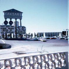 Snapshots: Las Vegas Strip in '68 – Stardust & Caesars.