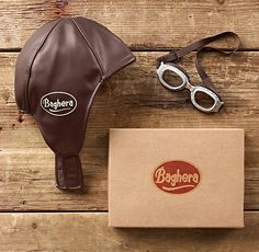 Vintage Racing Cap & Goggles From Restoration Hardware Baby & Kids